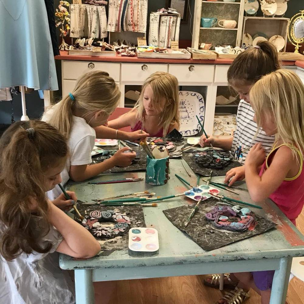 TOP RHODE ISLAND SUMMER CAMP: Art by You at Weirdgirl Creations Pottery Studio is a Top Summer Camp located in Barrington Rhode Island offering many fun and enriching camp programs.