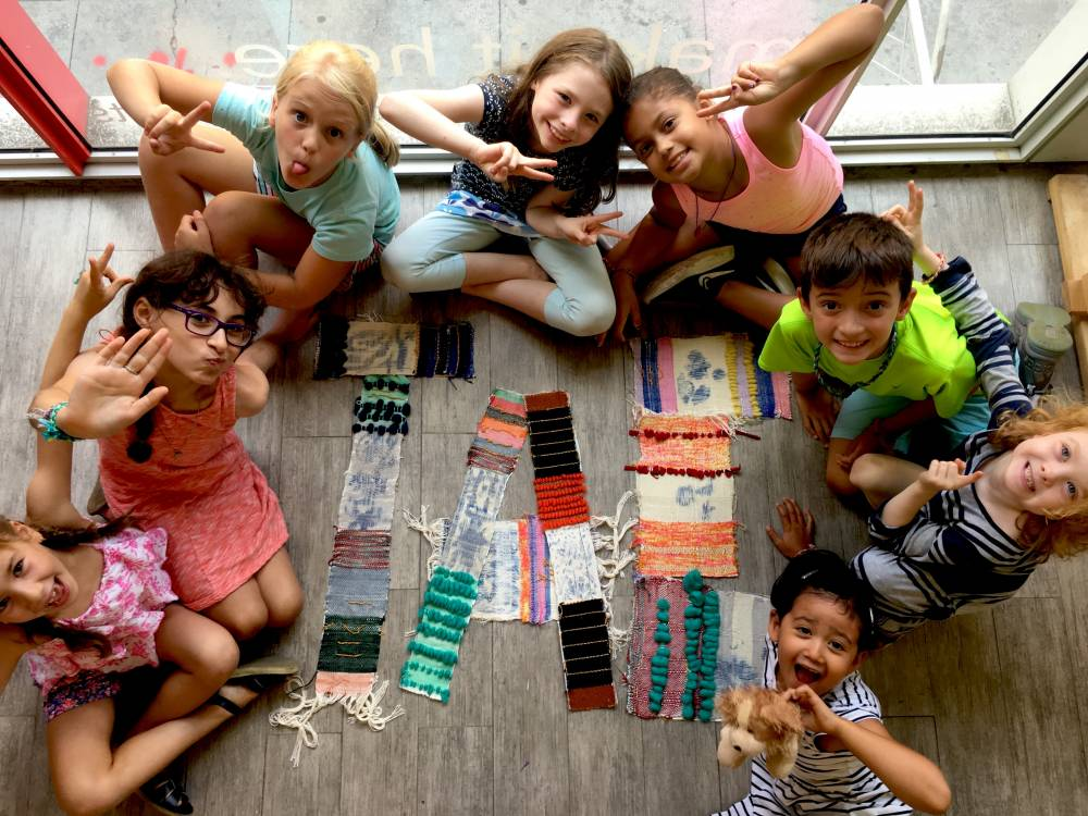 TOP NEW YORK SUMMER CAMP: Textile Arts Center Summer Day Camp (Brooklyn and Manhattan) is a Top Summer Camp located in Brooklyn New York offering many fun and enriching camp programs.