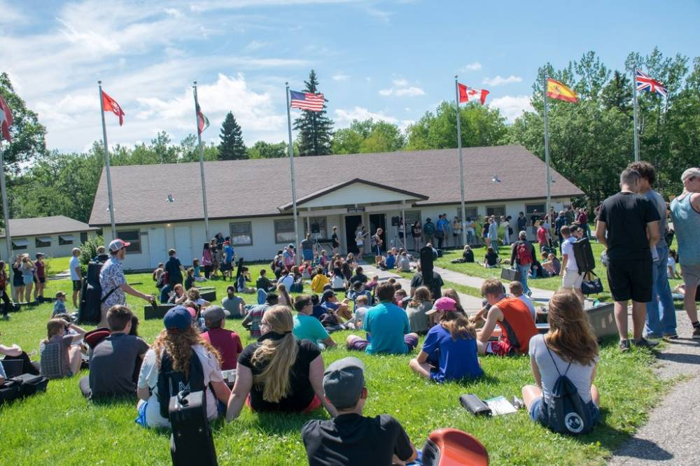 TOP NORTH DAKOTA SUMMER CAMP: International Music Camp is a Top Summer Camp located in Dunseith North Dakota offering many fun and enriching camp programs.