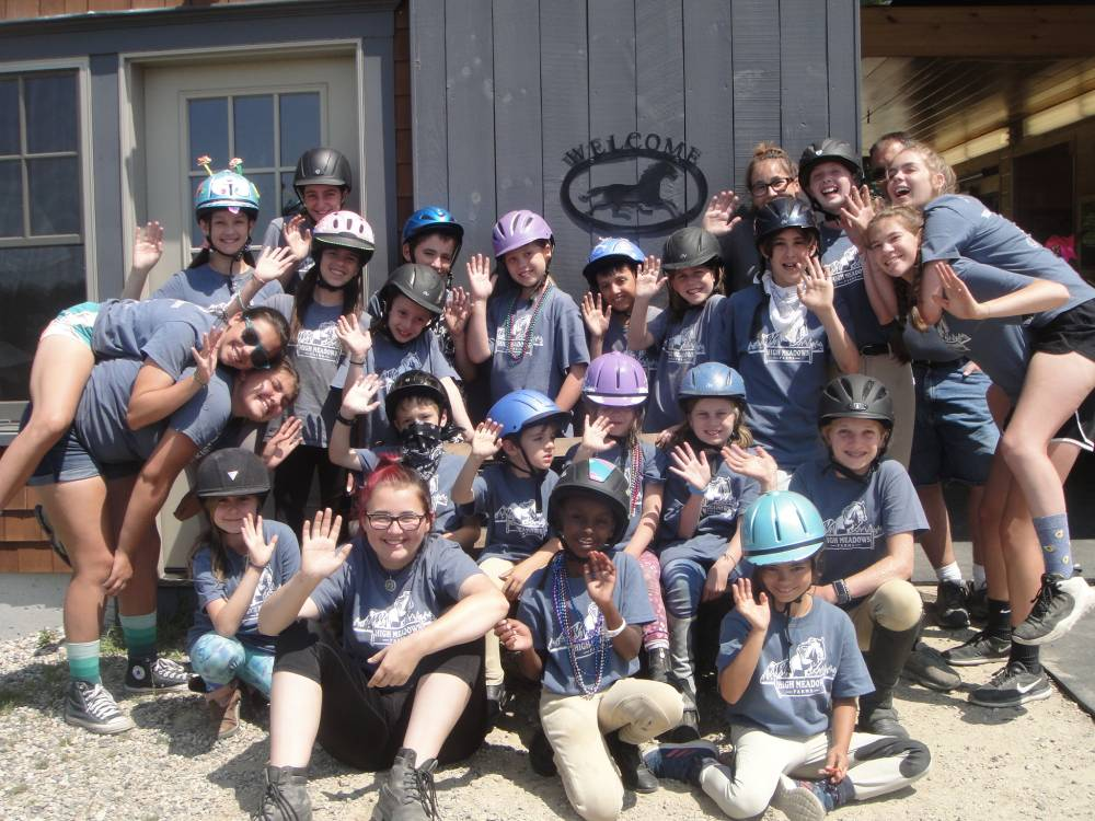 TOP NEW HAMPSHIRE SUMMER CAMP: High Meadows Farms is a Top Summer Camp located in Wolfeboro New Hampshire offering many fun and enriching camp programs.