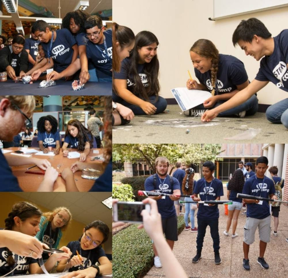 TOP TEXAS SUMMER CAMP: Say STEM Camp from Rice University s Tapia Center is a Top Summer Camp located in Houston Texas offering many fun and enriching camp programs.