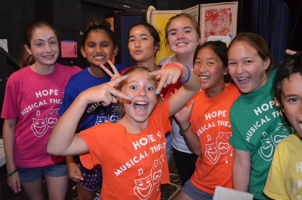 TOP CALIFORNIA SUMMER CAMP: Hope Musical Theatre is a Top Summer Camp located in Palo Alto California offering many fun and enriching camp programs. Hope Musical Theatre also offers CIT/LIT and/or Teen Leadership Opportunities, too.