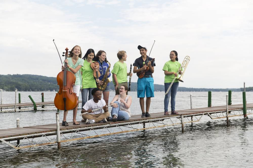 TOP NEW YORK SUMMER CAMP: Eastman@Keuka Summer Music Camp is a Top Summer Camp located in Keuka Park New York offering many fun and enriching camp programs.