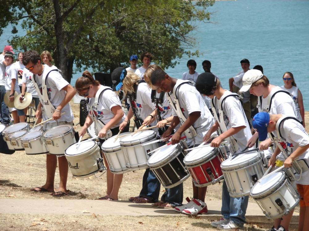 TOP OKLAHOMA SUMMER CAMP: Red River Drum & Auxiliary Camp is a Top Summer Camp located in Ardmore Oklahoma offering many fun and enriching camp programs.