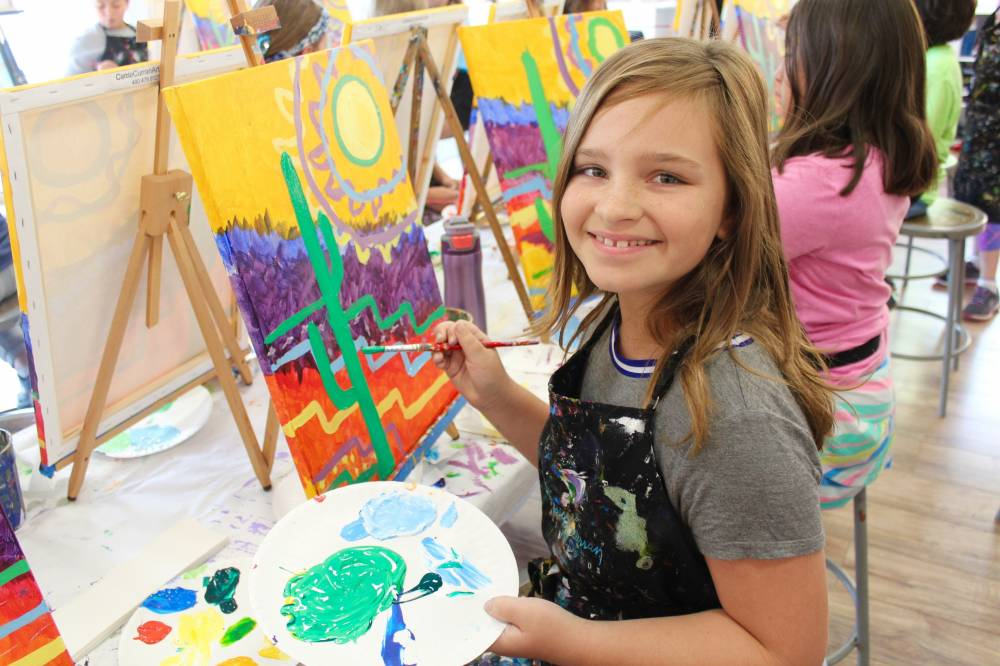 TOP ARIZONA SUMMER CAMP: Carrie Curran Art Studios Fine Art Program is a Top Summer Camp located in Scottsdale Arizona offering many fun and enriching camp programs.