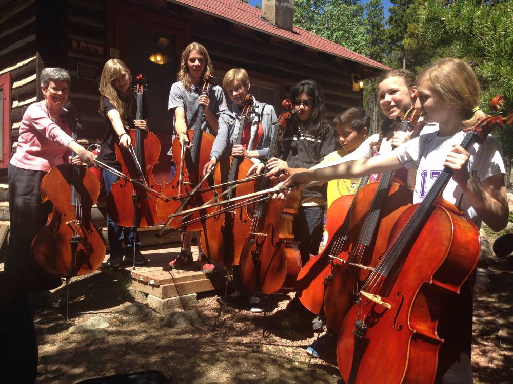 TOP COLORADO SUMMER CAMP: Rocky Ridge Music Center is a Top Summer Camp located in Estes Park Colorado offering many fun and enriching camp programs.