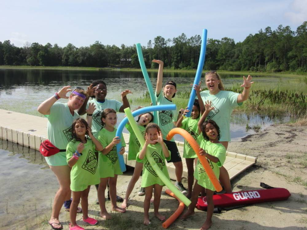 TOP FLORIDA SUMMER CAMP: Camp Kateri is a Top Summer Camp located in Hawthorne Florida offering many fun and enriching camp programs. Camp Kateri also offers CIT/LIT and/or Teen Leadership Opportunities, too.