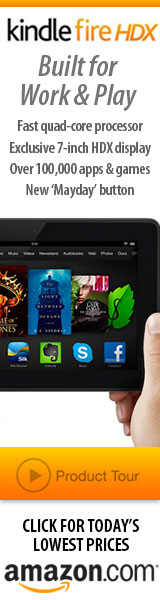 Lowest Prices Today on Kindle Fire HDX