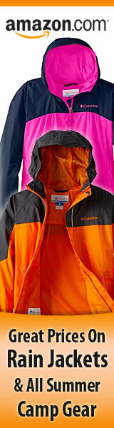 Lowest Prices Today on Boys and Girls Rain Jackets and All Summer Camp Gear