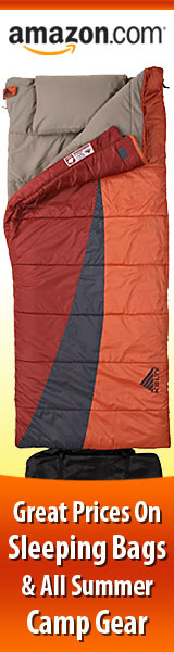 Lowest Prices Today on Sleeping Bags and All Summer Camp Gear