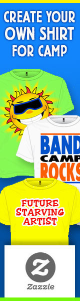 Create Cool Custom Summer Camp T-Shirts